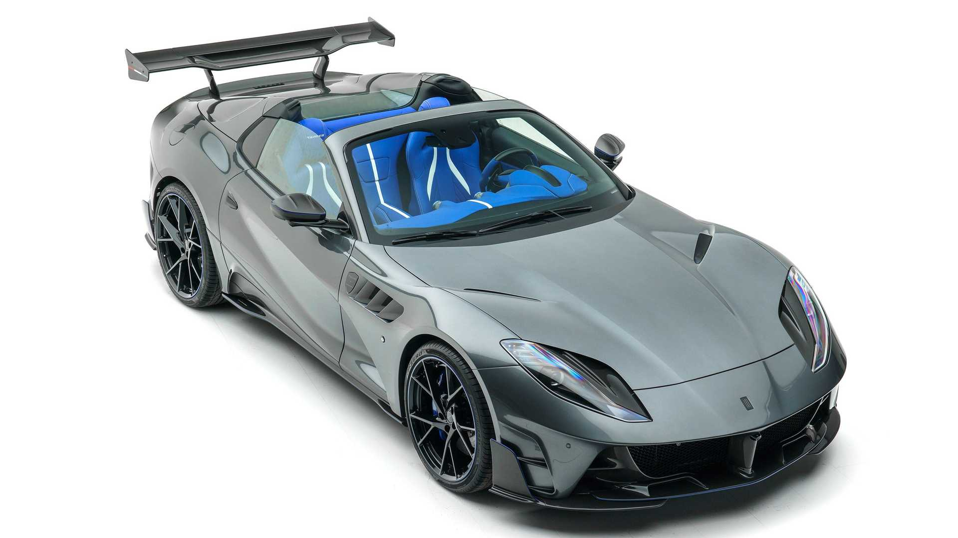 Ferrari 812 Gts Stallone By Mansory Gives The V12 Cabrio A Wild Look