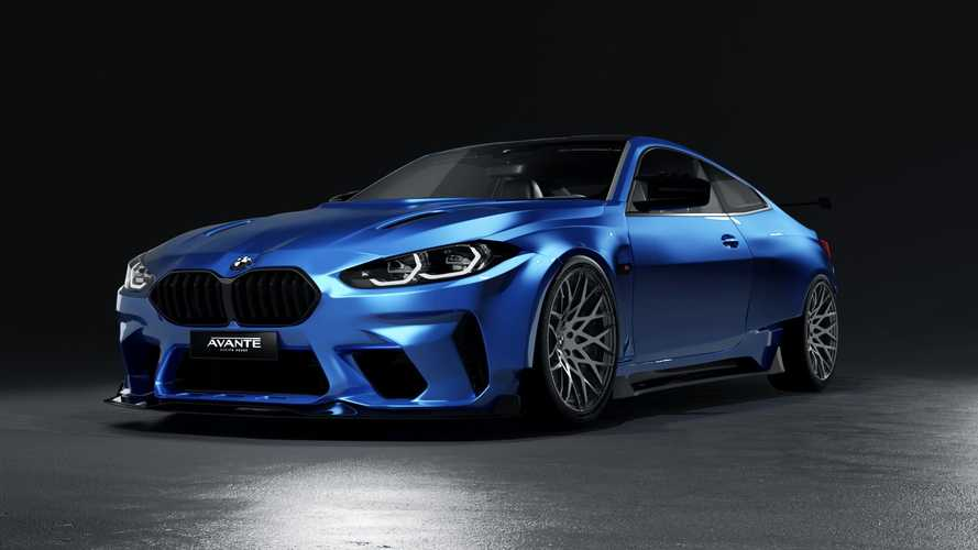 2021 BMW M4 widebody by Avante Design