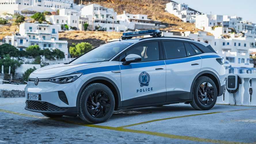 Volkswagen ID.4 Police Car Enters Service In Greece