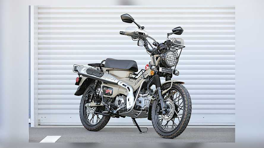 Kijima Introduces Honda CT125 Hunter Cub Touring Accessories