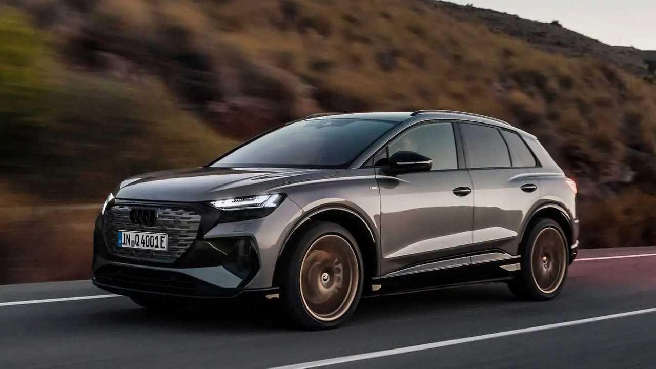 Audi Q4 E-Tron 2022 - movimento