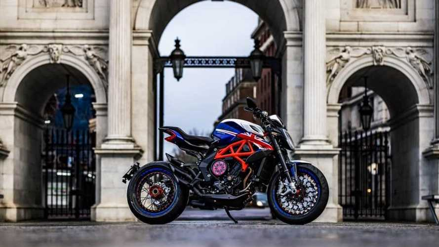 MV Agusta Celebrates London Store With Special-Edition Dragster
