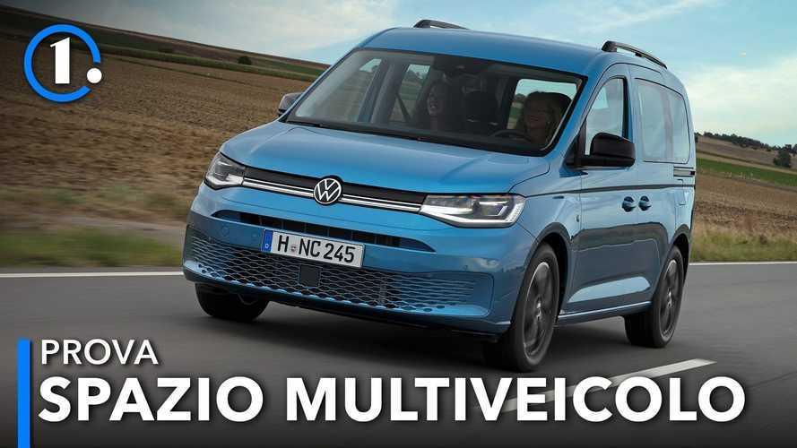Volkswagen Caddy, la Golf ha messo su famiglia