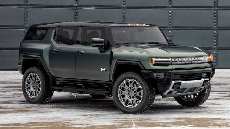 2024 GMC Hummer EV SUV debuts its broad body for America