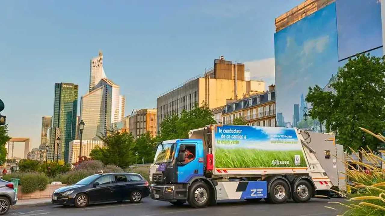Renault Truck D Wide elettrico raccolta rifiuti