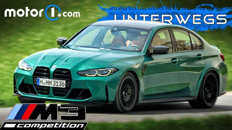Video: BMW M3 Competition (2021) im Test - Influencer-Kiste?