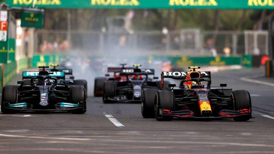 2021 Azerbaycan GP: Kaotik yarışı Perez kazandı