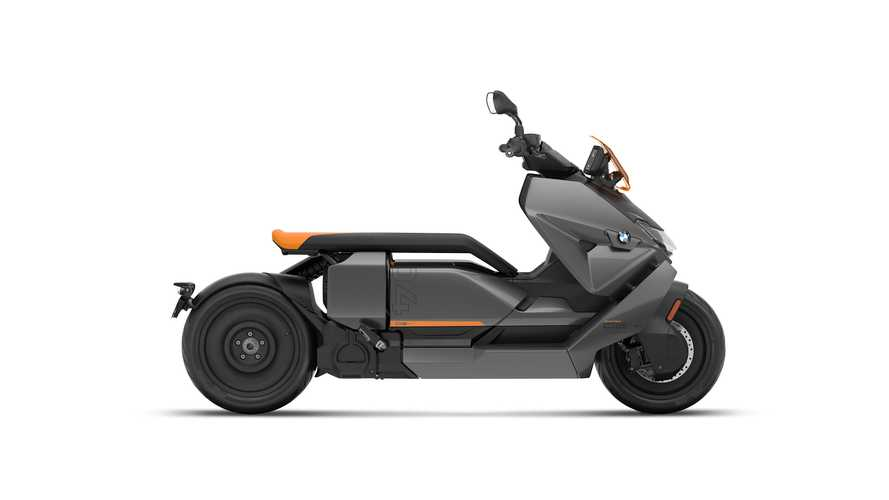 2022 BMW CE-04 Electric Scooter Makes Its Worldwide Debut