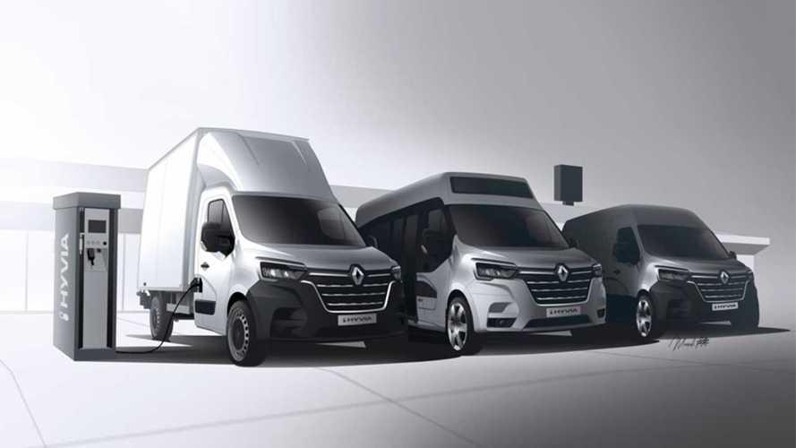 Si scrive Hyvia e si legge più furgoni, Renault, a idrogeno