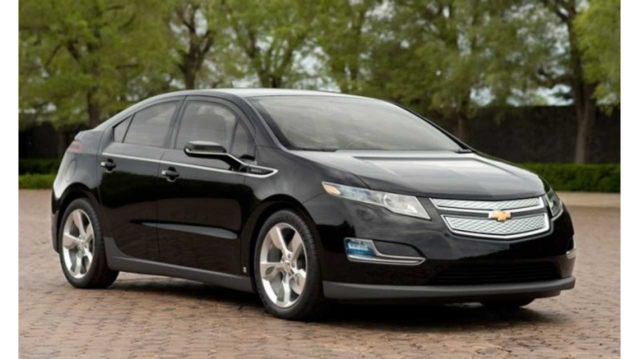 Chevy Volt Is Eligible For Mive Tax Credit Again
