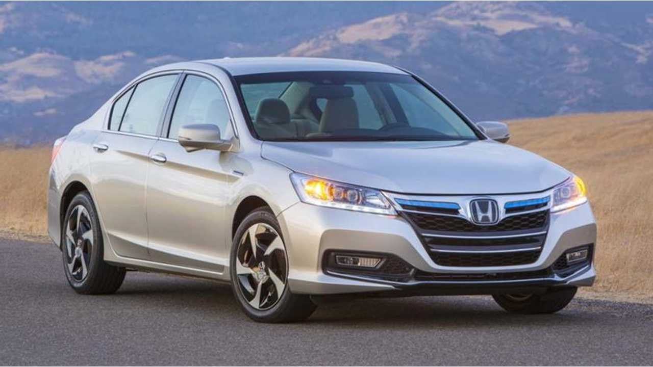 Honda Launches Accord Plug-In Hybrid in Japan