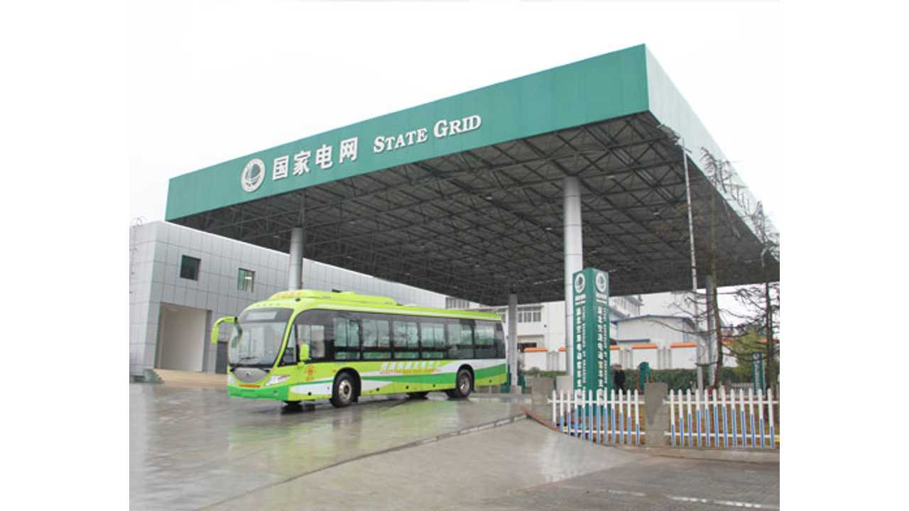 3.2 MW charging station for electric buses