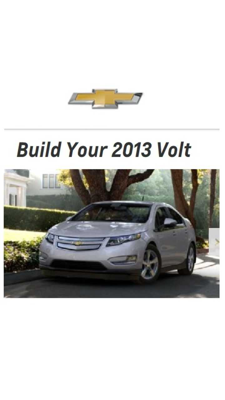 General Motors Now Offering $4,000 (Or More) Off Chevrolet Volt To Increase Sales