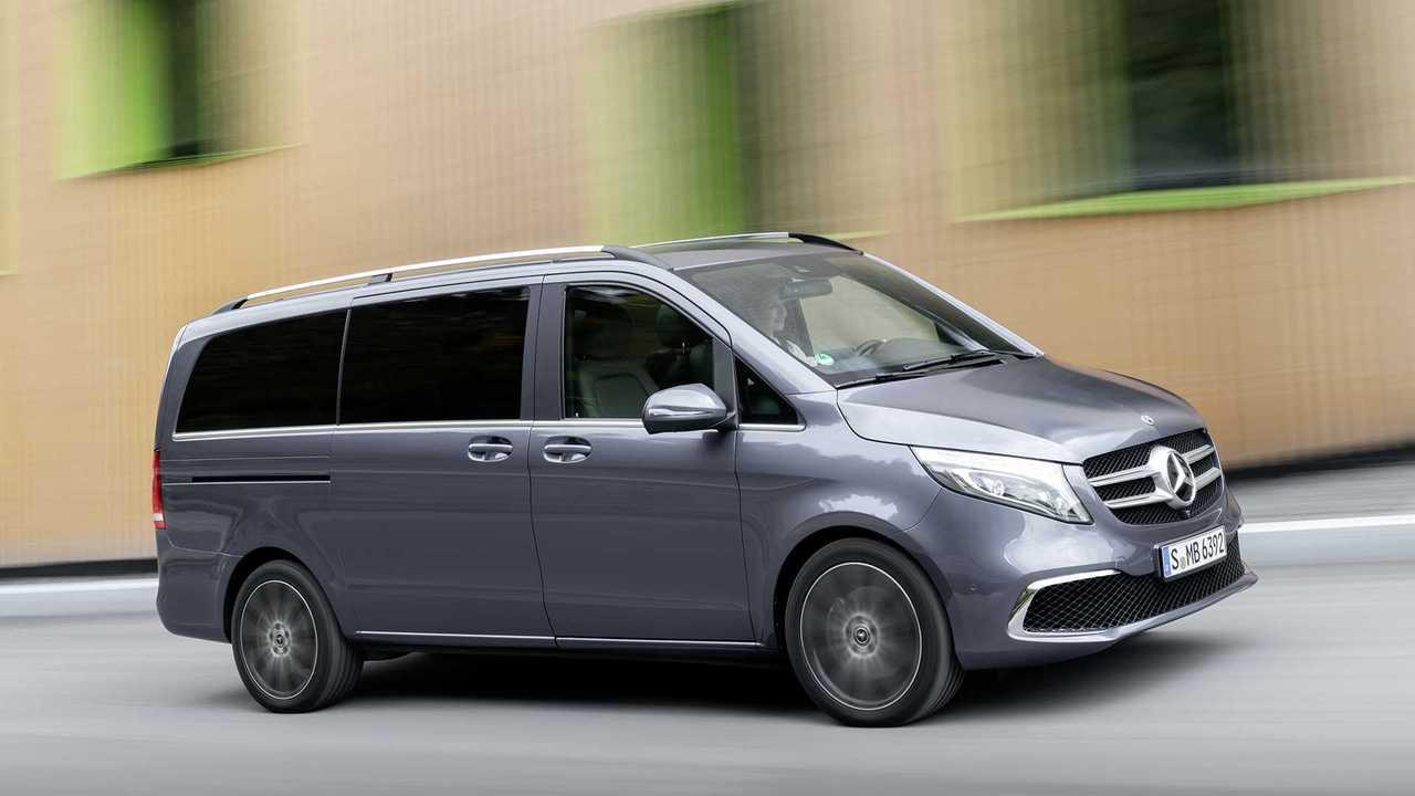 Mercedes V-class facelift