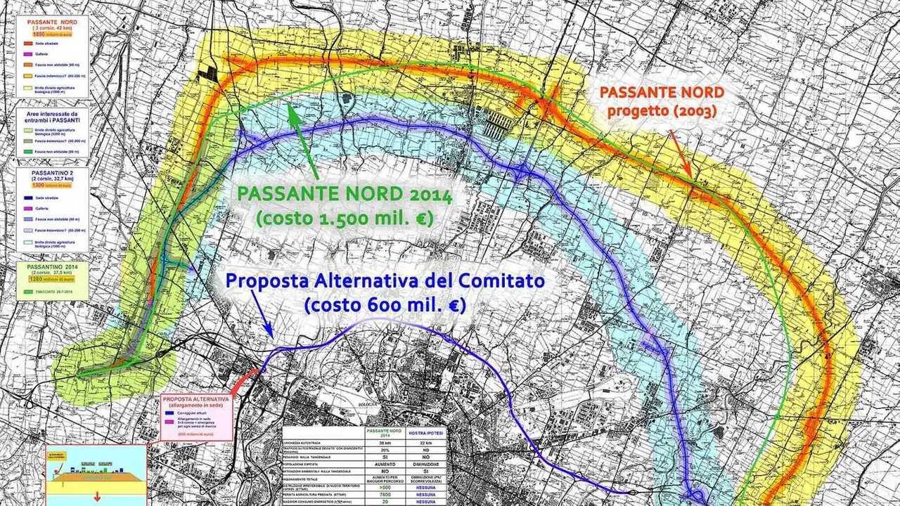 Autostrade, risparmio del 67% con il Passante Bologna