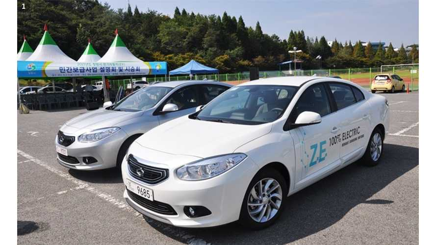 Renault Samsung Motors Begins Production Of SM3 Z.E. (w/video)