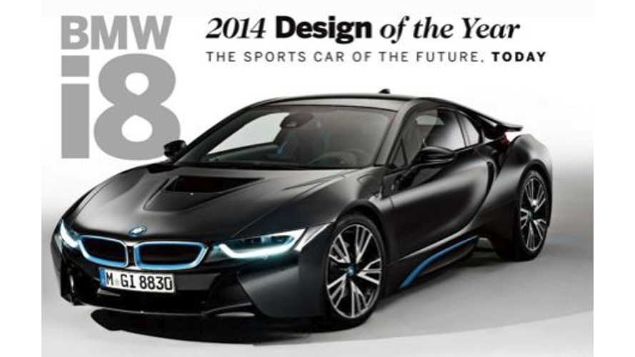 BMW i8 Wins Automobile Magazine's