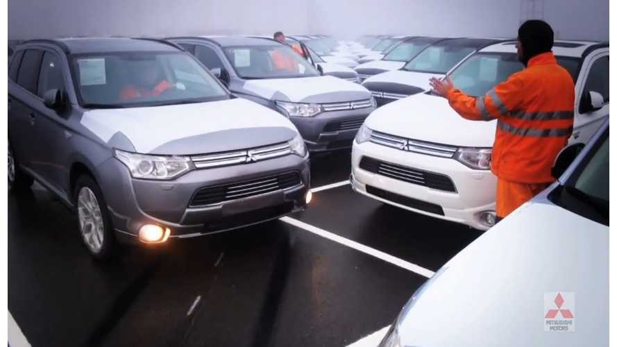 Mitsubishi's Extended Range Outlander PHEV Now On Sale In Europe (video)
