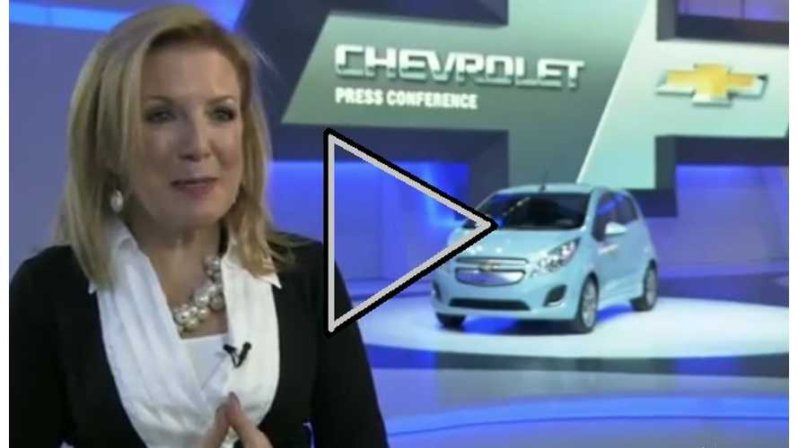 Video: Chevrolet Talks Spark EV In Europe.  Launches In Early 2014