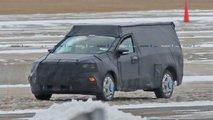 Fotos de espião Pickup Focus-Based Ford