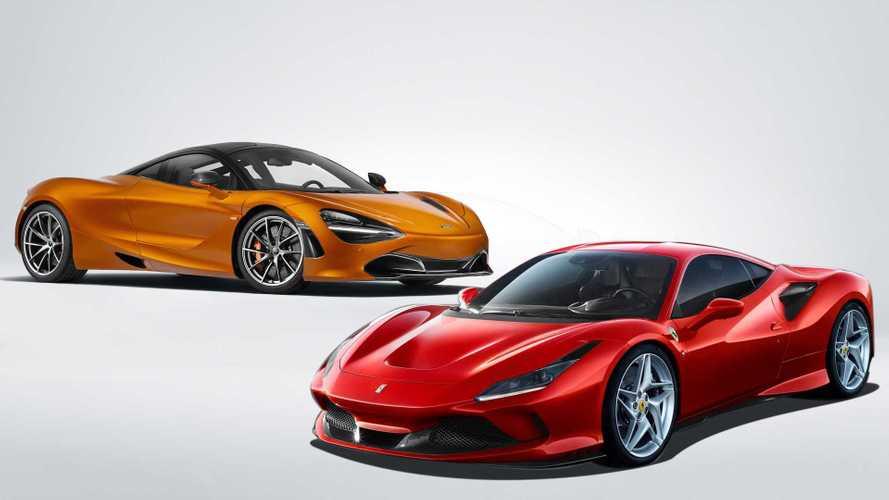 Ferrari F8 Tributo vs. McLaren 720S: la batalla de las cifras