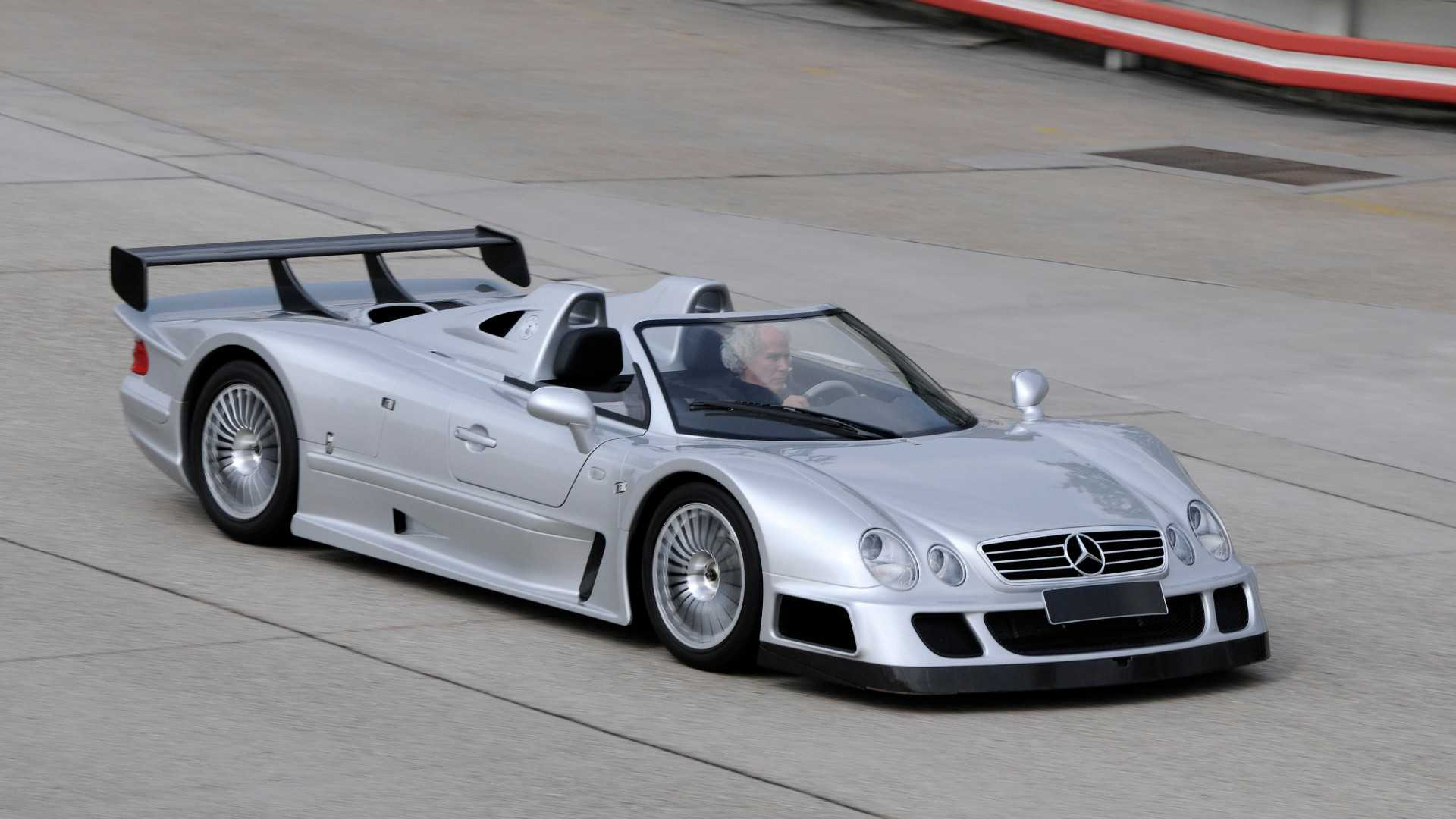 """[""""Mercedes-Benz CLK GTR""""]"""