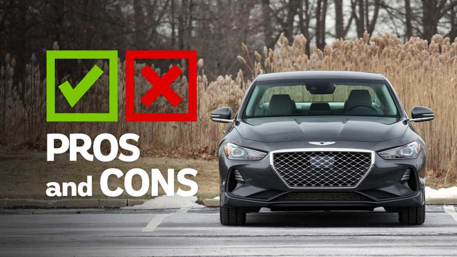 2019 Genesis G70 RWD 2.0T Sport M/T: Pros And Cons
