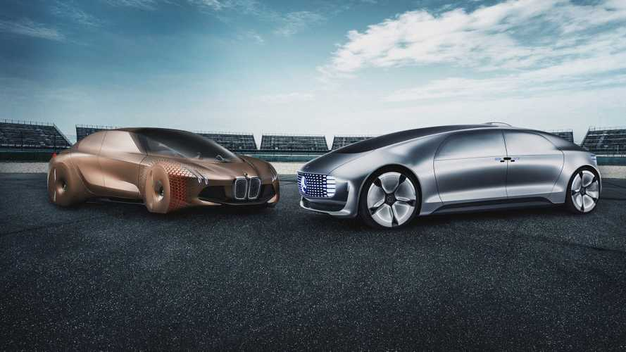 BMW e Mercedes ancora insieme, stavolta per la guida autonoma