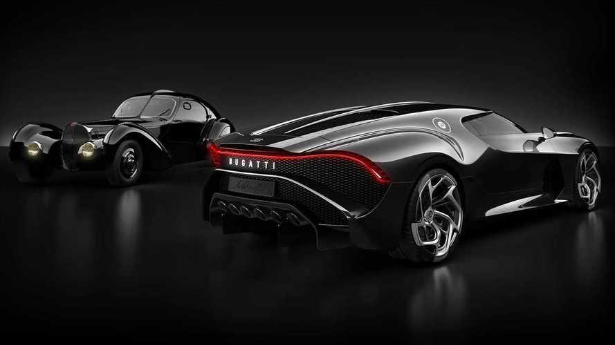 The story behind Bugatti La Voiture Noire