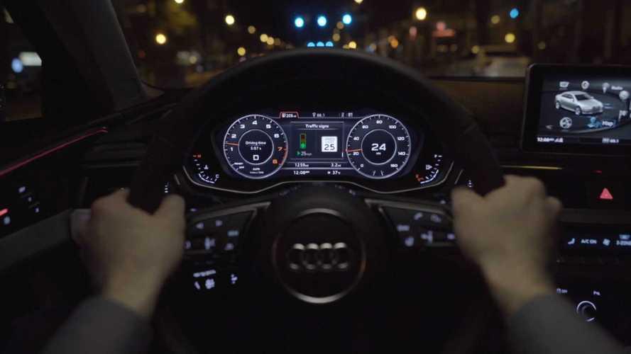 Audi GLOSA: Grüne-Welle-Assistent