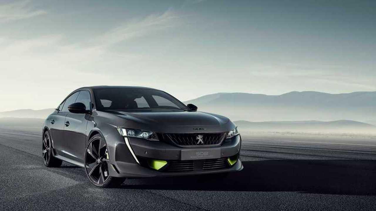 Koncepció 508 Peugeot Sport Engineered