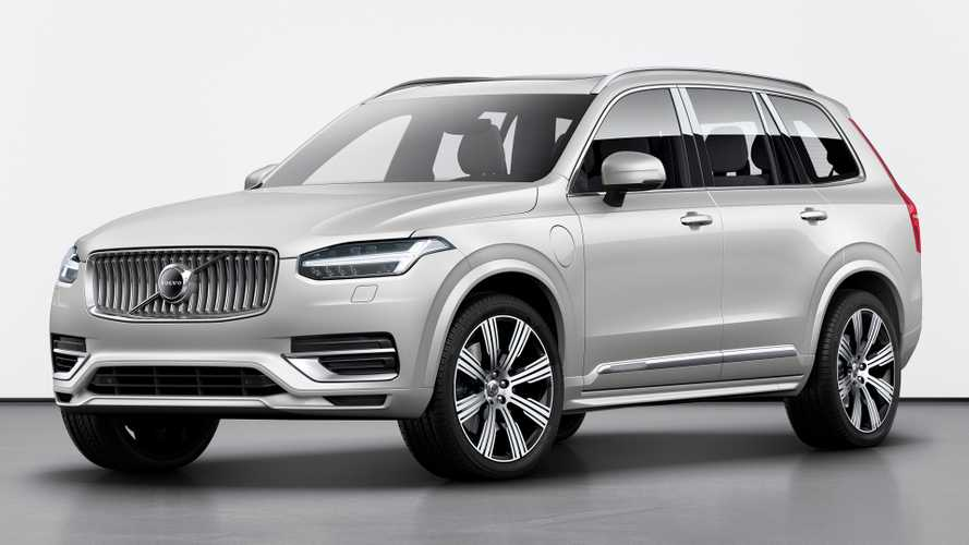 Volvo XC90 facelift revealed with KERS for better fuel efficiency