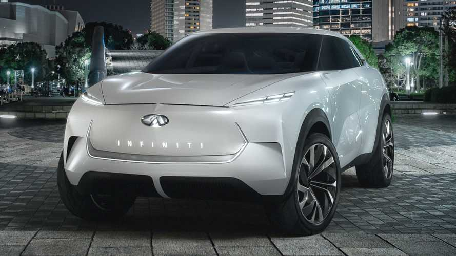 Infiniti QX Inspiration Concept Previews Future Production EV