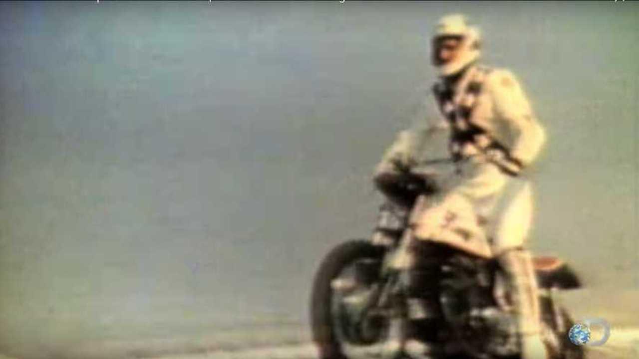 Evel Knievel Bike At Bonham S Las Vegas Moto Auction: Evel's Caesar Palace Fountain Jump 51 Years Later