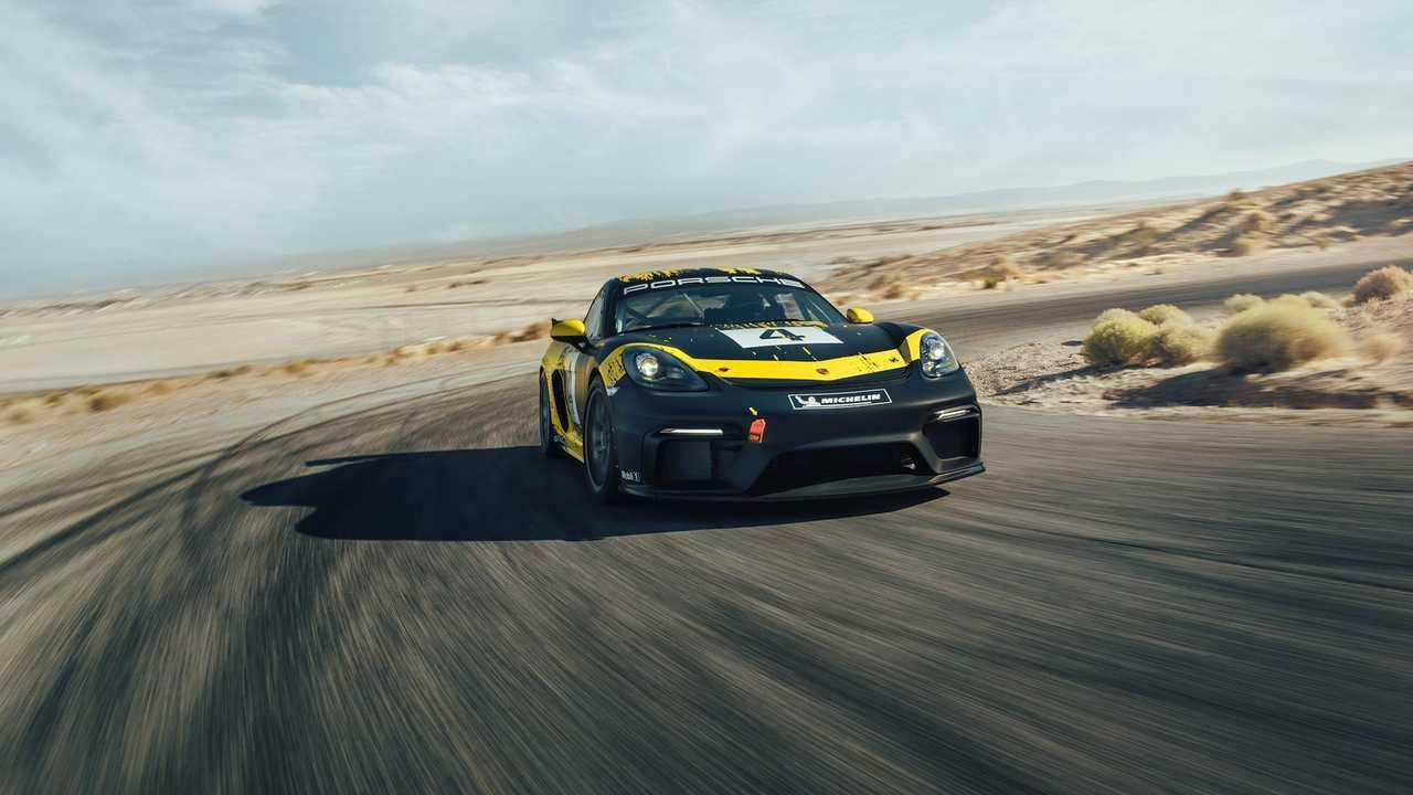New Porsche 718 Cayman GT4 Clubsport