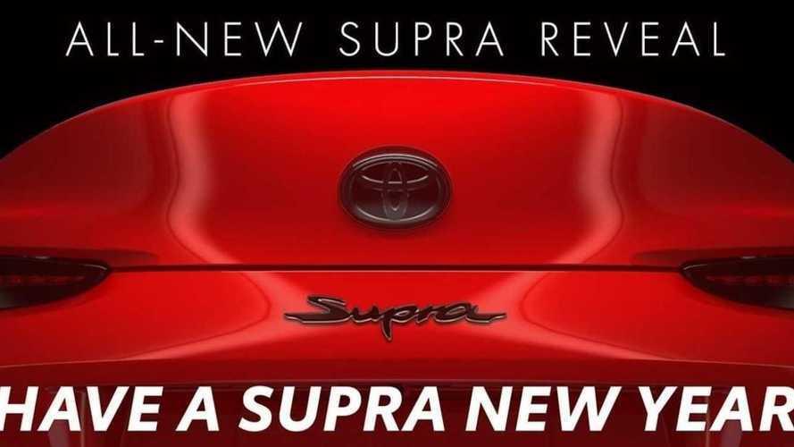Un énième teaser pour la Toyota Supra