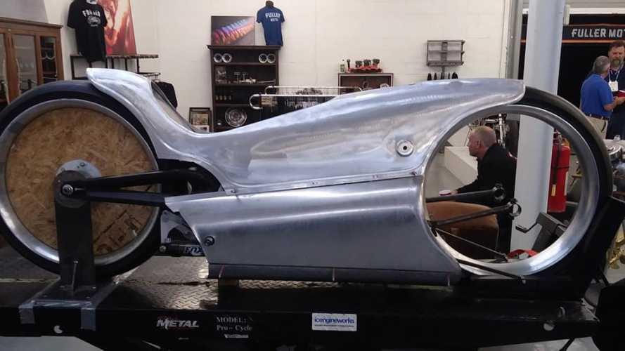 Fuller Moto Electric Cafe Racer