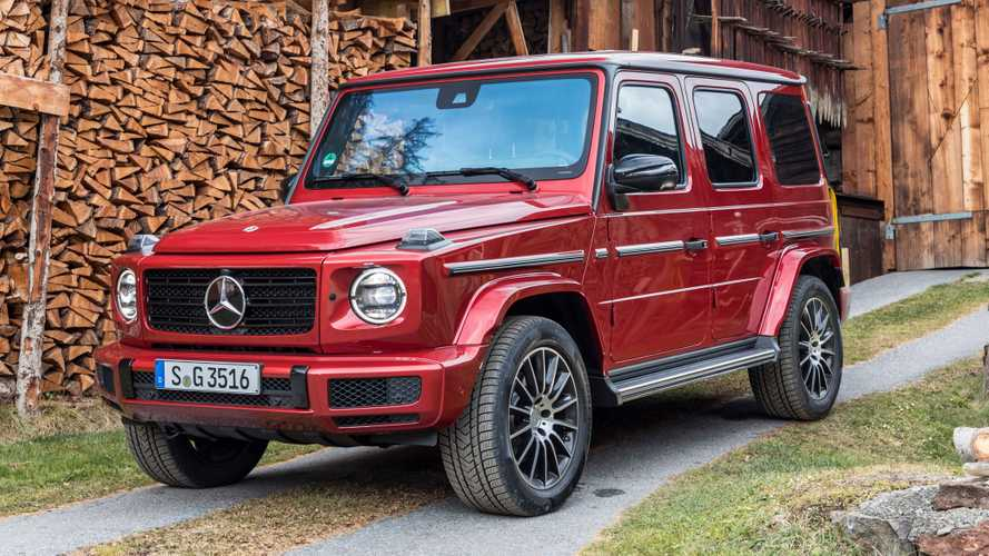 2019 Mercedes G 350 d brings diesel power to the chunky SUV