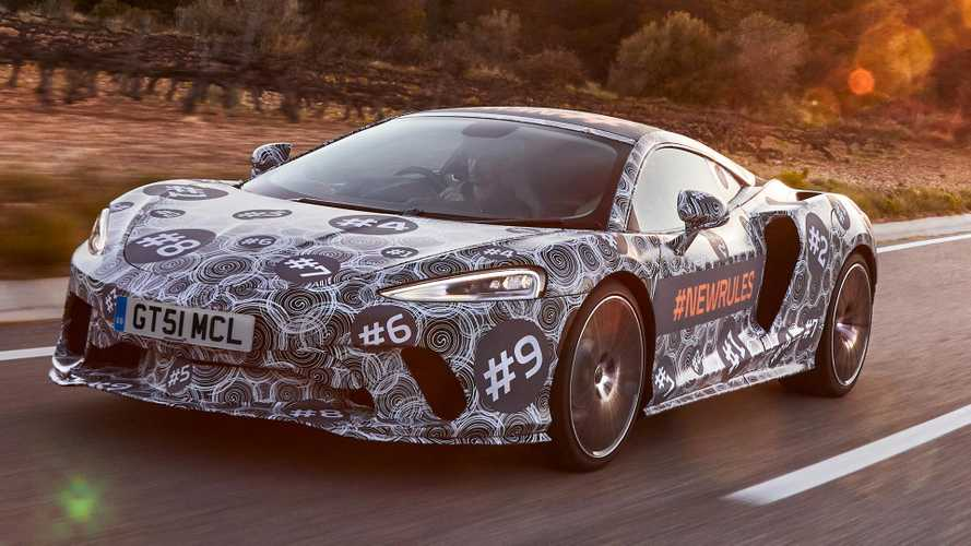 McLaren Grand Tourer Teased In Production Body