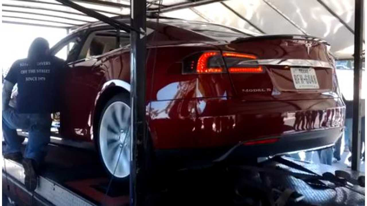 Video: Tesla Model S Performance Version Dynos at 368 Horsepower