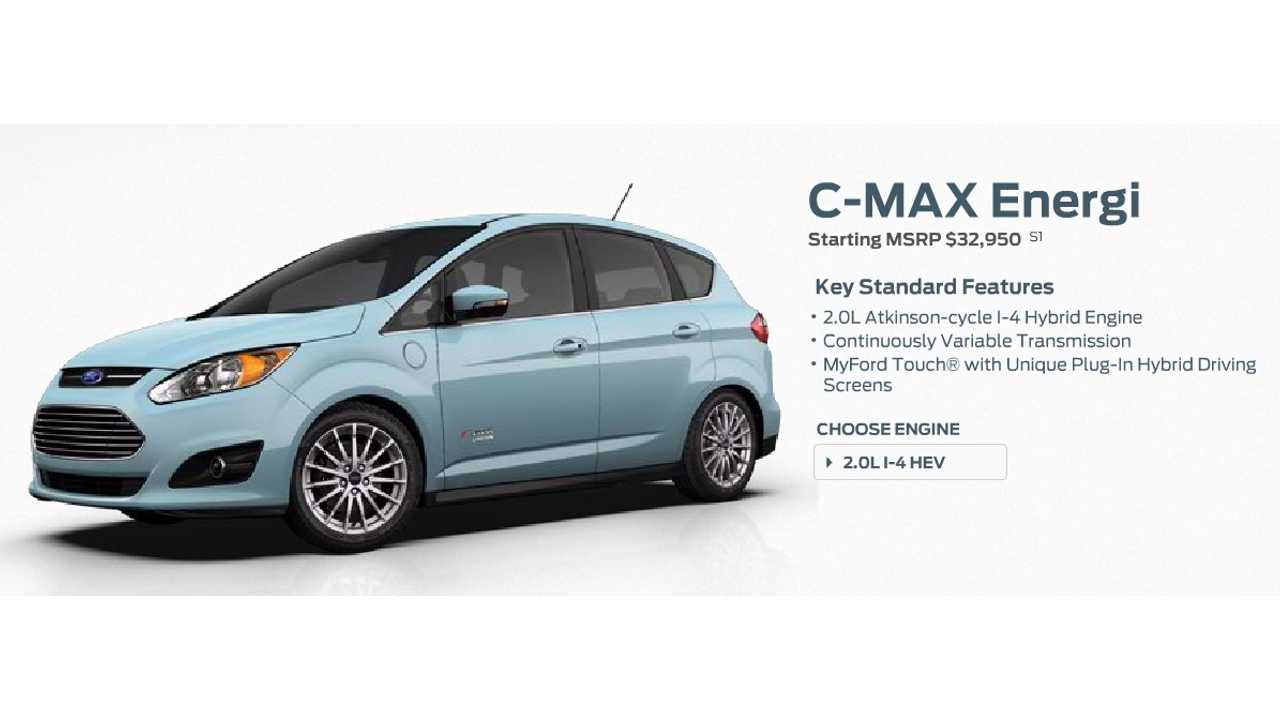 My Ford Credit >> Ford C Max Energi Plug In Priced At 29 995 After Credit