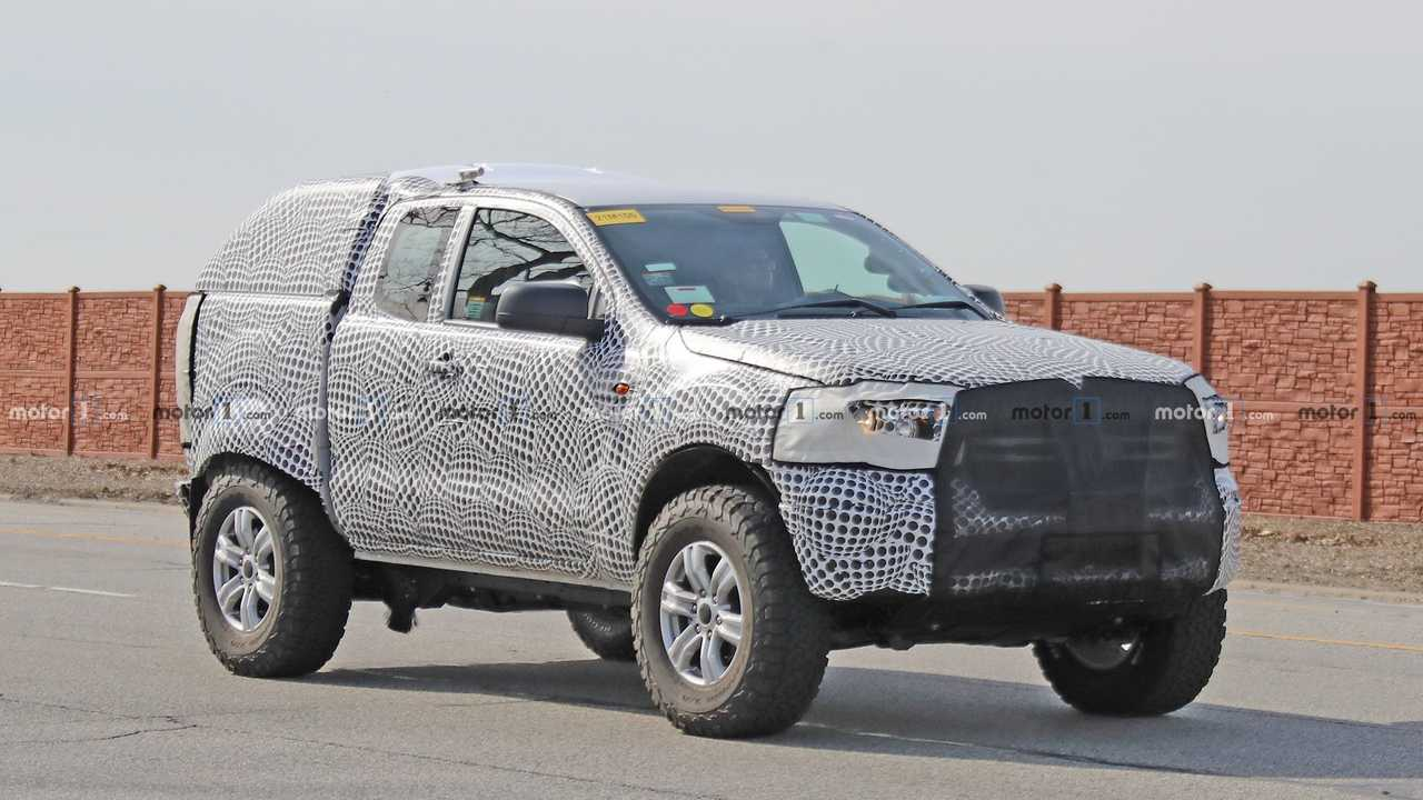 New Ford Bronco >> Ford Bronco Test Mule Spied Prowling The Streets Of Dearborn