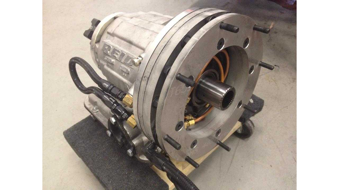 The custom built 2-speed Powerglide transmission has essentially a high and low gear that the driver can manually select