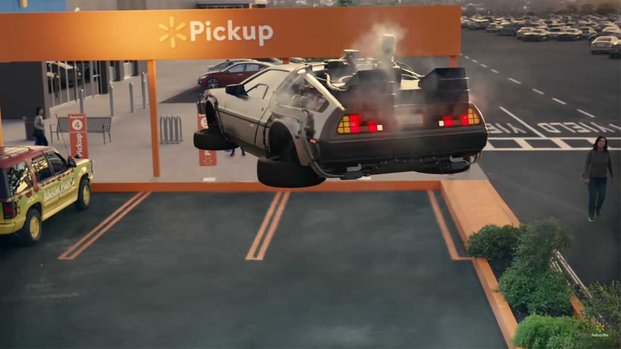 Walmart DeLorean