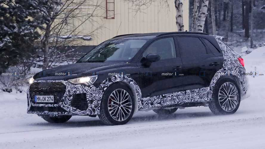 2020 Audi RS Q3 Spied As Rumors Hint At 400+ HP