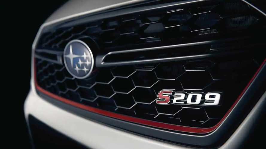 Subaru Impreza WRX STI teasers