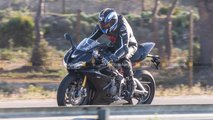 Triumph Daytona 765 Spy Shots