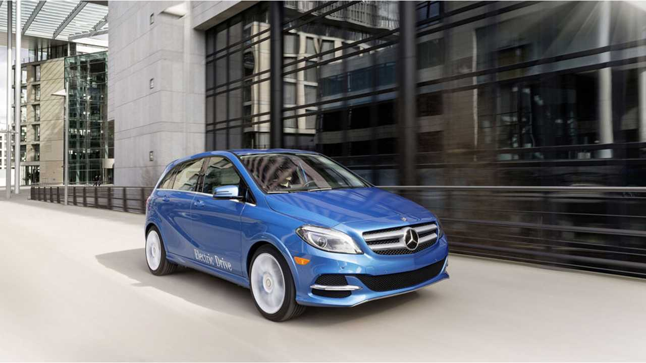 Mercedes-Benz B-Class Electric Drive Road Test Review