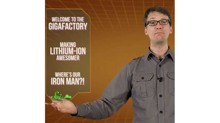 Video: SciShow - Get Charged Up For The Tesla Gigafactory