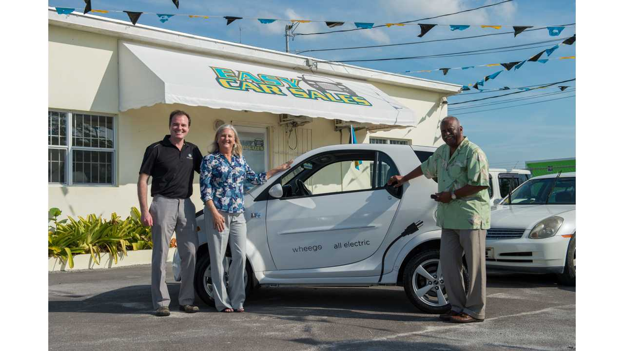 EASY Eco-Car to Begin Selling Wheego LiFe EVs in the Bahamas